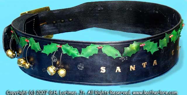 santa claus belts - Santa Claus Belt
