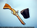 Flintlock Matchlock leather holster sling